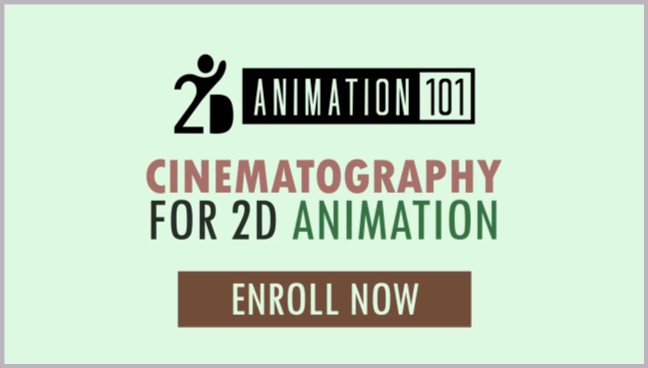 Cinematography for 2D animation essentials course intro video screenshot